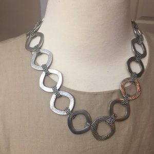 Stainless Steel Gold and Silver Necklace